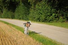 001自行车 图库摄影