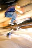 001踩滑板 免版税库存图片