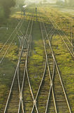 001铁路 免版税库存照片