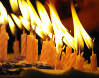 001 свечка Стоковое Фото