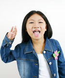 001 dziecko azjatykci young Zdjęcie Royalty Free