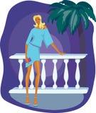 001 dziewczyna royalty ilustracja