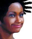 001 galna illustrerade folk för alittle Royaltyfria Foton