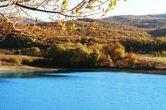 001 jesień jezioro Zdjęcia Stock
