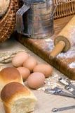 002个做面包系列 免版税库存照片