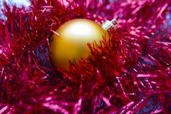 002圣诞节装饰 免版税库存照片