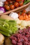 002牛肉自创炖煮的食物 免版税库存图片