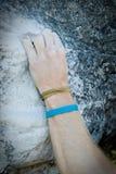002 взбираясь руки Стоковое фото RF