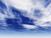 002 la 9000 ultra niebo Obrazy Royalty Free
