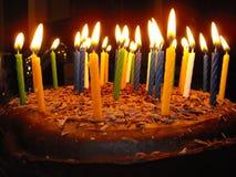 002 świeczki Obrazy Stock
