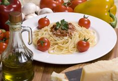 003个意大利面食系列 库存图片