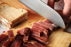 003猪肉 库存图片