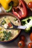 003 σούπα Ταϊλανδός Στοκ φωτογραφίες με δικαίωμα ελεύθερης χρήσης