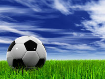 003 (a) grass at 9000 and sky 005 (a) mr. Extremely high resolution soccer ball in grass stock images