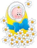 004婴孩 免版税图库摄影