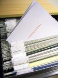 004文件 免版税图库摄影