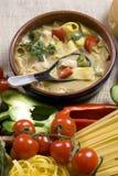 004 σούπα Ταϊλανδός Στοκ Φωτογραφία