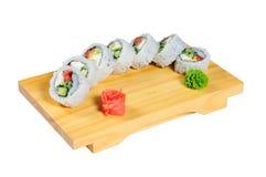 004 sushi Fotografering för Bildbyråer