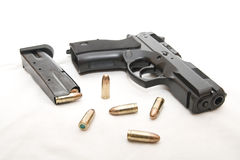005枪 免版税图库摄影