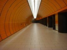005 tunelu Obrazy Royalty Free