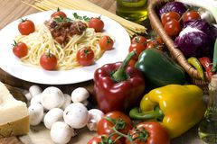 006个意大利面食系列 免版税库存图片
