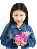 006 asiatiska barnbarn Arkivbild