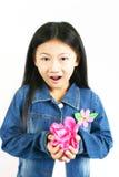 006 asiatiska barnbarn Arkivbilder