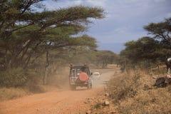 007个徒步旅行队运输通信工具 免版税库存照片