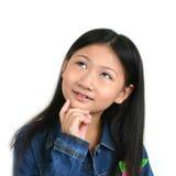 008 asiatiska barnbarn Royaltyfri Foto