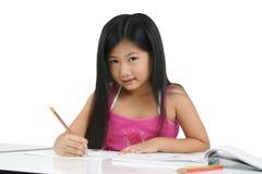 008 asiatiska barnbarn Royaltyfria Bilder