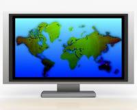 008 plazmowy telewizor Fotografia Stock