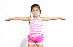 009 mała słodka dziewczynka Obrazy Stock