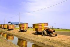 01个农厂卡车 库存照片