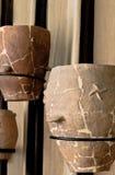01个古色古香的罐 免版税库存照片