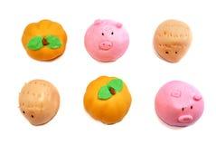 01个小圆面包cutie系列 库存照片