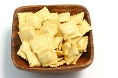 01个意大利面食馄饨 库存图片