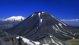 01个新的火山西兰 图库摄影