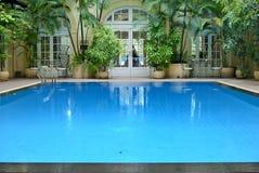 01个池游泳 库存照片