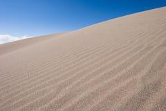 01个沙丘极大的国家公园蜜饯沙子 免版税库存照片