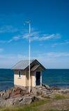01个海滩小屋 免版税库存图片