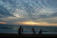 01个海滩kemang telok 免版税库存图片
