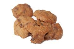 01个筹码巧克力曲奇饼系列 免版税库存照片