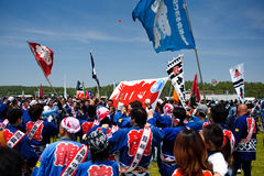 01个节日日本风筝 库存图片