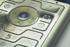 01个键盘移动电话 库存照片