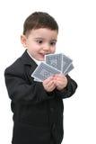 01以赌纸牌行骗为生的人 库存图片