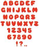 01儿童字体滑稽的s 免版税库存照片