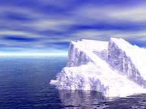 01冰山 向量例证