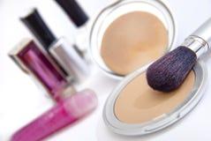 01名化妆用品系列妇女 库存图片