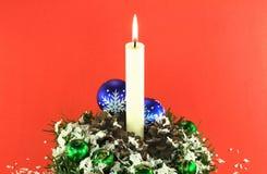 01圣诞节装饰 免版税库存图片