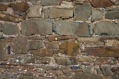01块砖石墙 免版税图库摄影
